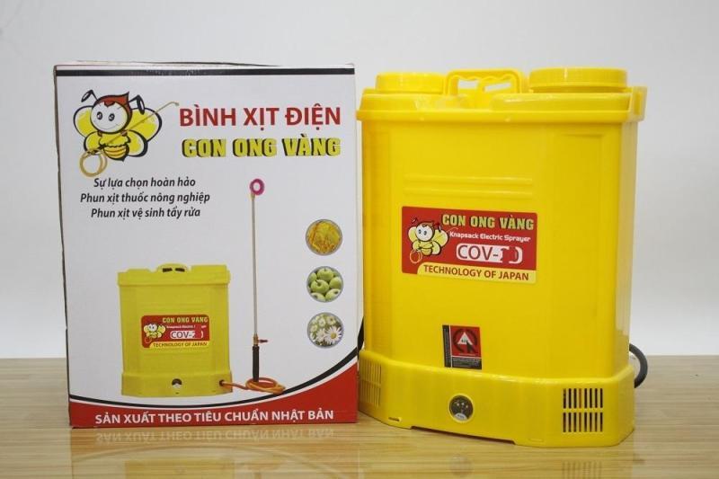 Bình xịt điện con ong vàng COV 16D Dung tích bình nước16 lít