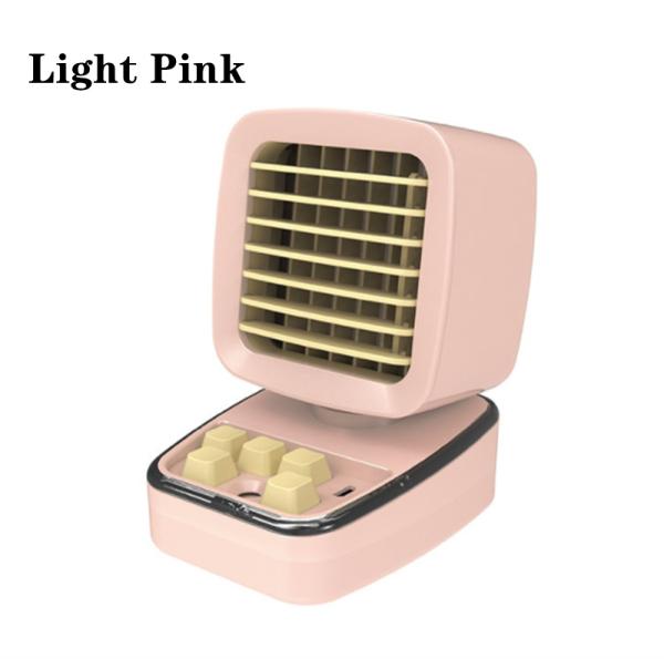 Bàn sáng tạo mini đứng Máy tính Quạt làm mát không khí Máy điều hòa không khí di động Đèn LED phun ánh sáng 5 nút Máy lọc không khí và máy tạo ẩm Sạc USB cho sinh viên Văn phòng Văn phòng Quà tặng và đồ chơi