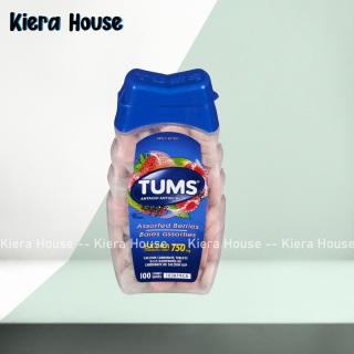 Viên nhai giảm đau dạ dày TUMS Extra Strength 750 của Mỹ 100 viên thumbnail