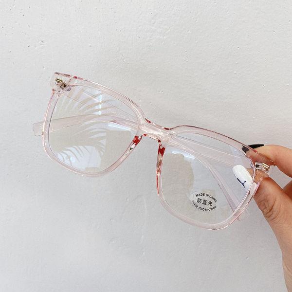 Giá bán Chống ánh sáng xanh dương Mắt Kính Gọng Kính Nam Nữ Vuông Máy Tính Glasess Cận Thị Spectascle Khung TR90 Vintage Giả Kính Bán giỏi nhấthjhg