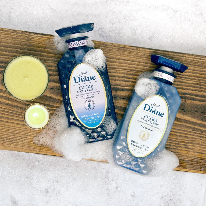 Dầu Gội Tăng Cường Dưỡng Chất Ban Đêm Moist Diane Extra Night Repair Shampoo  | Lazada.vn
