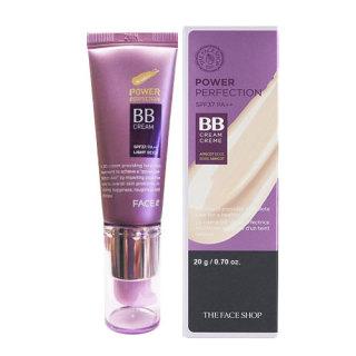 Kem nền BB cream The Faceshop Face it Power Perfection SPF37 PA++ no 1 light beige 20g thumbnail
