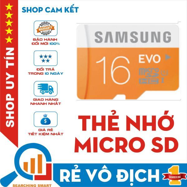 Thẻ nhớ Micro SDHC Samsung EVO Plus 16GB - Bảo hành 5 năm