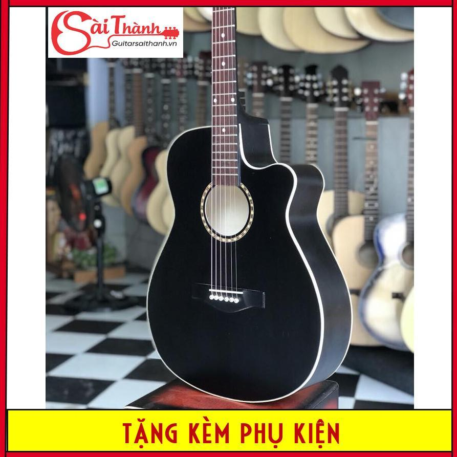 Đàn guitar modern STĐ850 có ty chỉnh cần tặng kèm phụ kiện