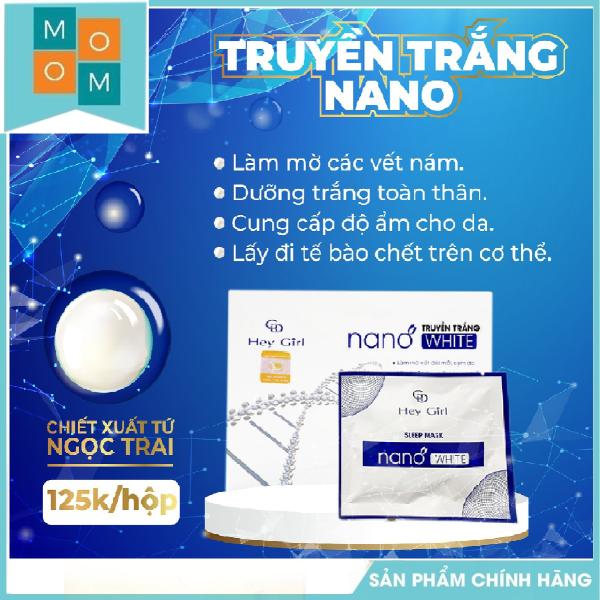 Tắm trắng body, Truyền trắng Nano White , - tắm trắng da an toàn [SALE SỐC TRUYỀN TRẮNG]