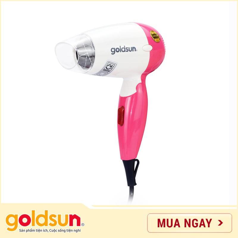 Máy sấy tóc Goldsun 650W HD-GXD850 (Hồng)