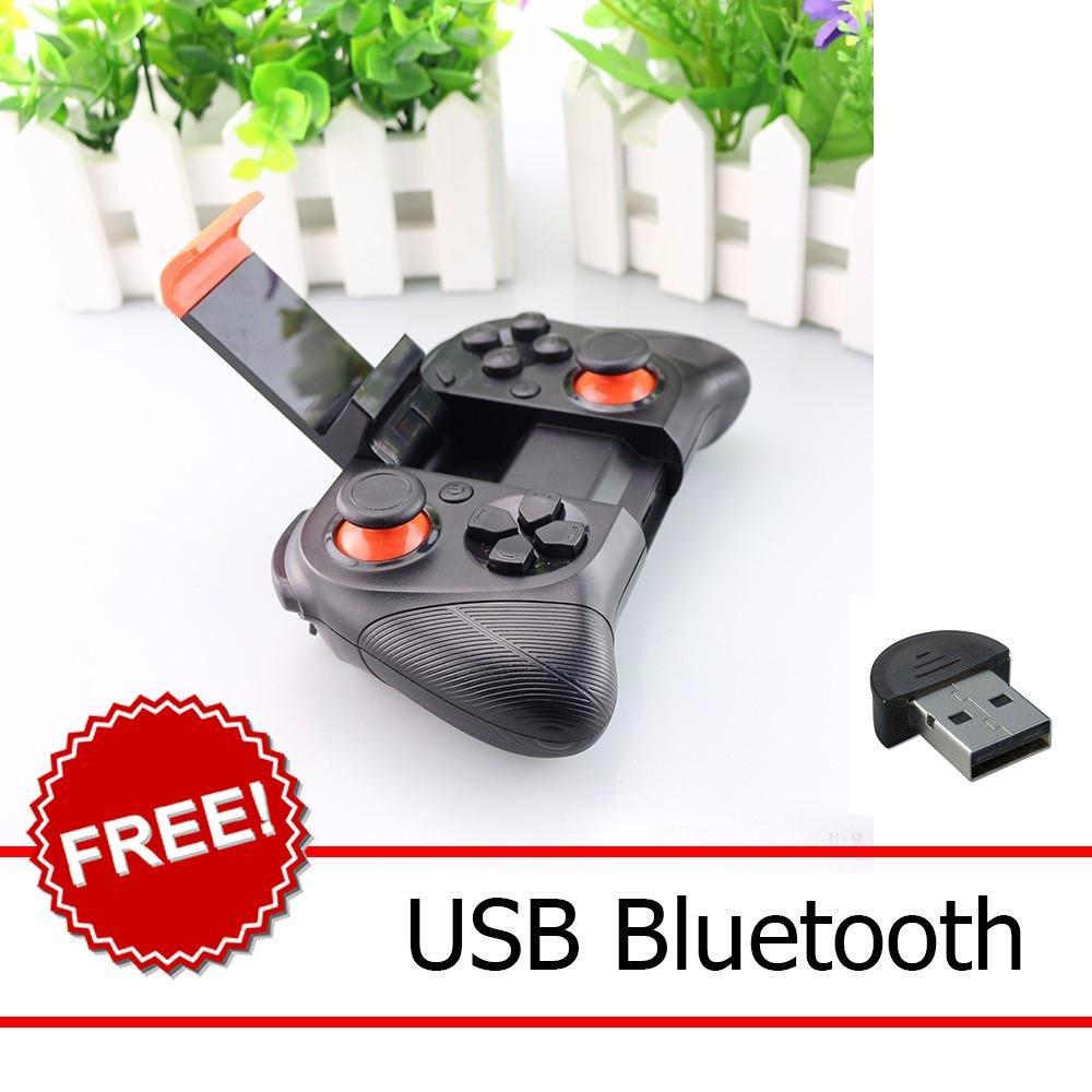 Gamepad không dây bluetooth cho Samsung, iPhone, iPad, Android + USB BLuetooth Nhật Bản