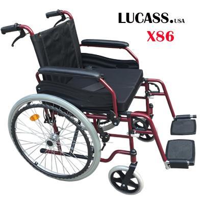 Xe lăn hợp kim nhôm Lucass X86 nhập khẩu