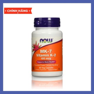 Thực Phẩm Bổ Sung - NOW Vitamin K2 MK7 120 Viên thumbnail