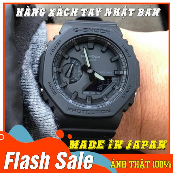 Đồng hồ Nam G-Shock GA-2100-1A1 - Mới- Made in JAPAN - Size 46mm - Bảo hành 12 tháng - Siêu chống nước,chống từ,chống va đập - Màu bền không phai - Đẳng cấp NHẬT BẢN bán chạy