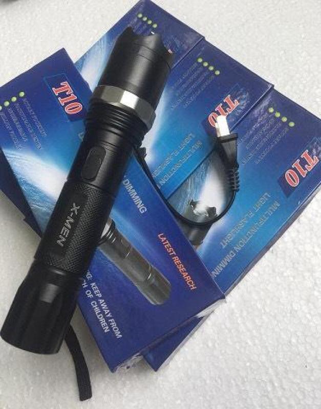 Bảng giá Đèn pin T10 sạc điện tự ngắt bảo_vệ + chich_điện