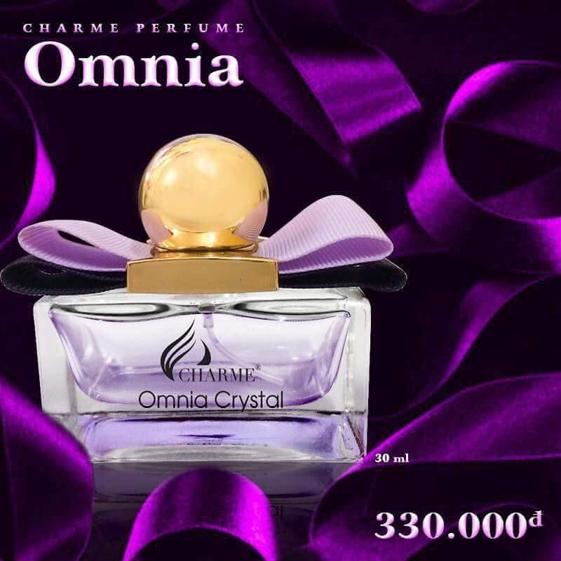NƯỚC HOA CHARME OMNIA CRYSTAL 30ML (TẶNG QUÀ)