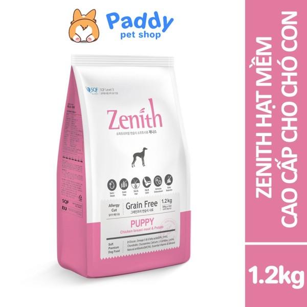 Zenith thức ăn hạt mềm cho chó con - 1.2kg (300g*4)