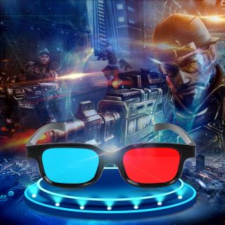 Kính 3D xanh đỏ dùng xem phim 3D, 4D, 5D trực tiếp trên tivi - máy tính - điện thoại thumbnail