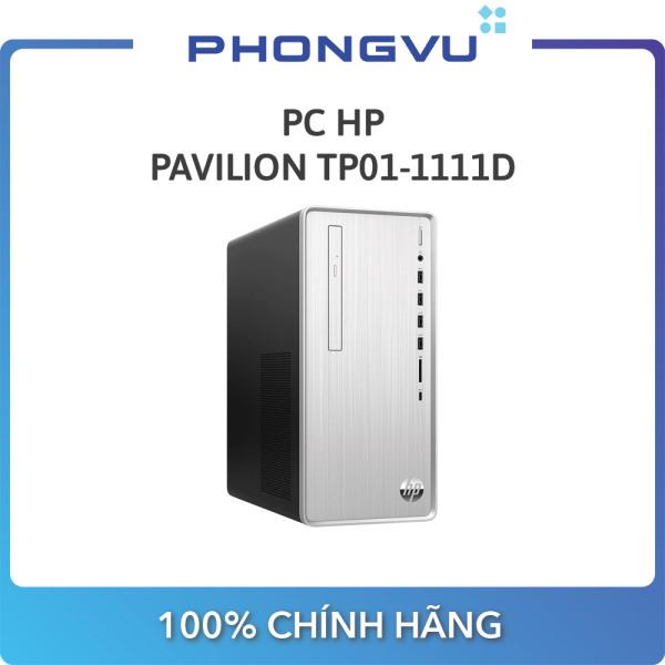 PC HP Pavilion TP01-1111d 180S1AA (i3-10100 / 4GB / SSD 256GB / Win 10 / DVD / Wifi) - Bảo hành 12 tháng