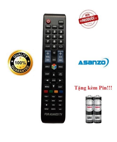 Điều khiển tivi Asanzo Smart TV- Hàng tốt