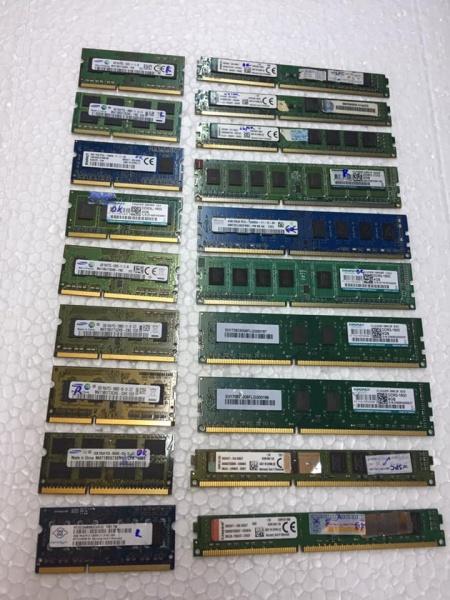 Bảng giá Ram DDR3 2G PC 1333/1600 Phong Vũ