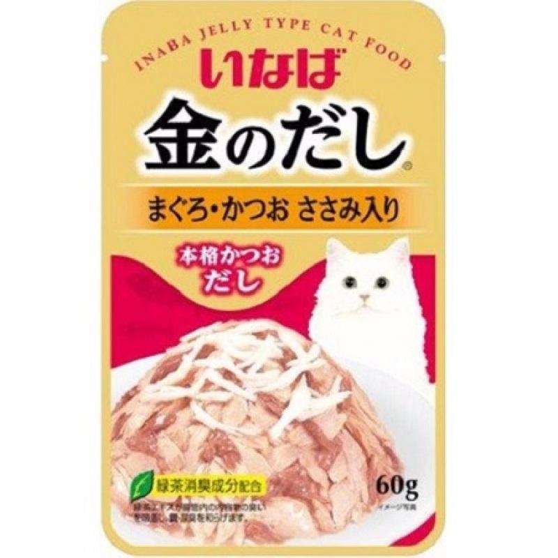 Patê InaBa Nhật Cho Mèo Dạng Gói Nhiều Vị Thơm Ngon