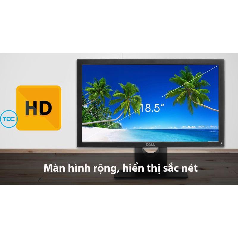Màn Hình Dell 18.5 E1916HV (1366x768/TN/60Hz/5ms). Hàng chính hãng. Bảo hành 36 tháng