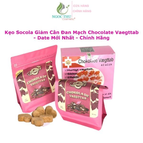 Socola Giảm Cân Đan Mạch Chokolade Vaegttab Mẫu Mới Nhất - Cam Kết Chính Hãng 100%