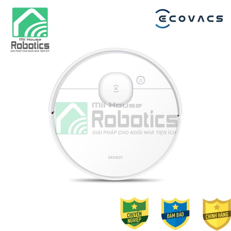 Robot hút bụi lau nhà Ecovacs Deebot N8 - Hàng chính hãng new mới 100%