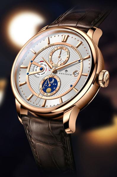 Đồng hồ nam chính hãng Poniger P8.13-1