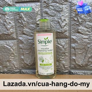 Nước tẩy trang Simple Micellar Cleansing Water Kind to Skin 200ml - Sử dụng được da nhạy cảm thumbnail