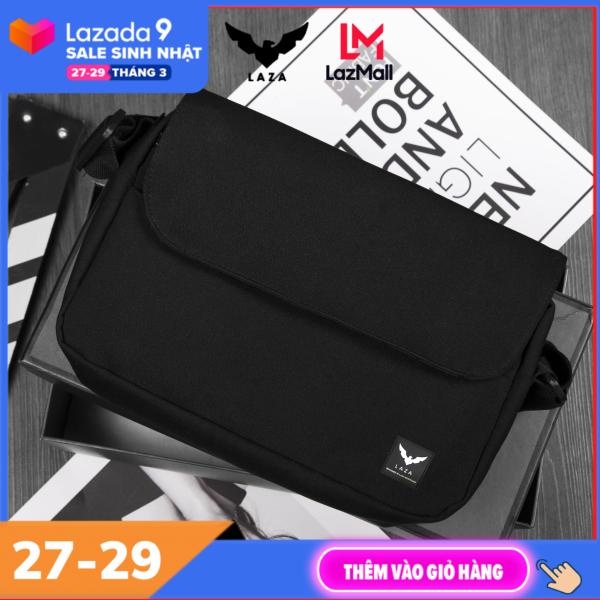 Túi đeo chéo nam tiện lợi , Túi Đeo Chéo Mini Thời Trang Vải Canvas Cao Cấp LAZA TX473 - Chính hãng phân phối