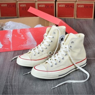 Giày Thể Thao Nam nữ Converse 1970s Cream High ( Giày converse 1970s màu kem caocổ) 2