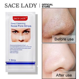 Mặt nạ mũi SACE LADY làm sạch sâu lỗ chân lông loại bỏ mụn đầu đen - INTL thumbnail