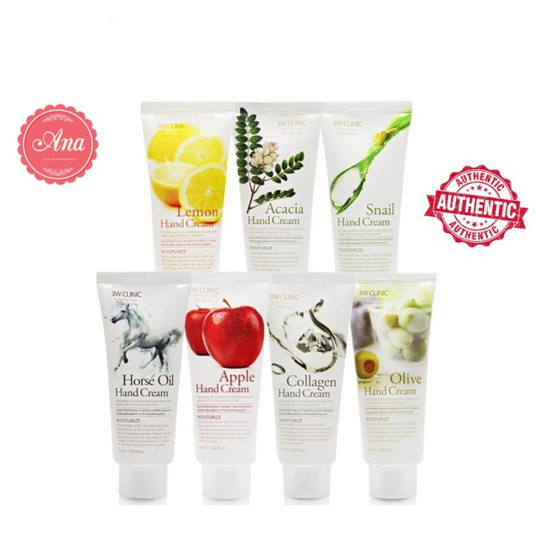 Kem Dưỡng Da Tay 3W Clinic Hand Cream 100ml giá rẻ
