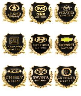 Combo 2 Logo huy hiệu VIP của hãng Honda và logo đơn dành cho ô tô, xe máy kích thước 5.5cm x 5.5cm 4