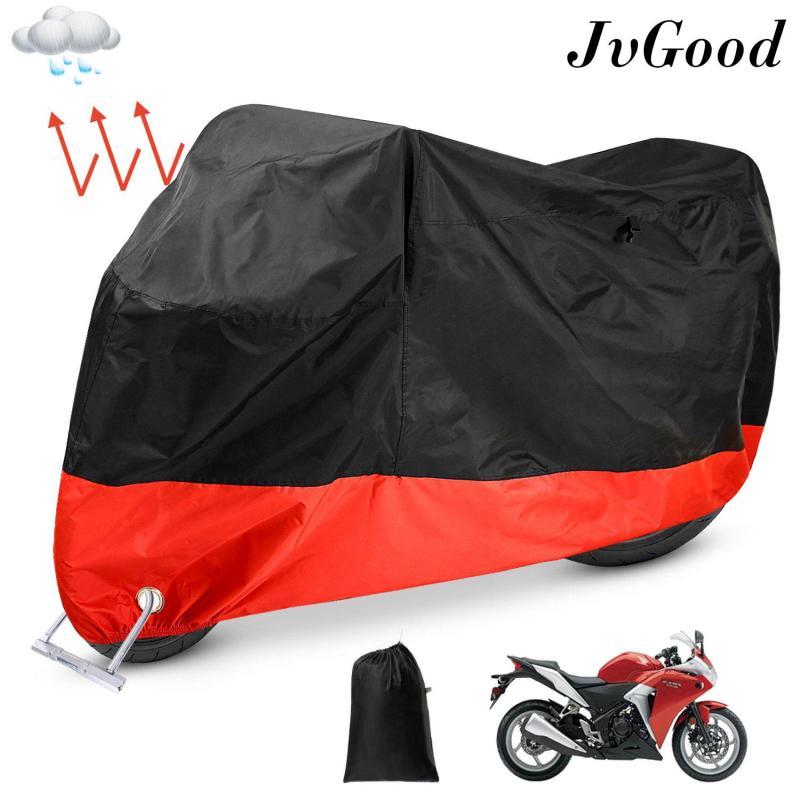 JvGood bạt phủ xe máy chống thấm che mưa/ nắng, ngăn tia UV, chống bụi và thoáng khí cho xe Scooter 190T - INTL