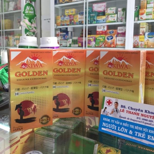 Bao Cao Su cao cấp GOLDEN GOLD- tăng cảm xúc