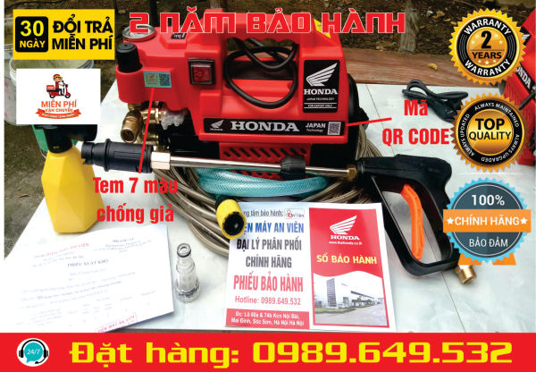 Máy rửa xe HONDA THAILAN MODEL HD3500W