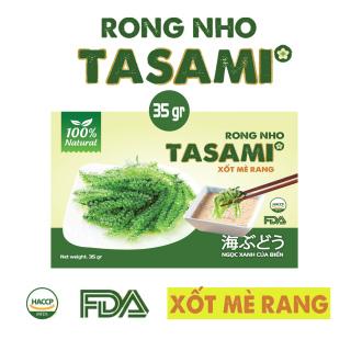 [TẶNG Sốt Mè Rang] Rong Nho tách nước TASAMI gói 35g Mẹ Bầu dùng được Đạt chuẩn FDA và HACCP 1