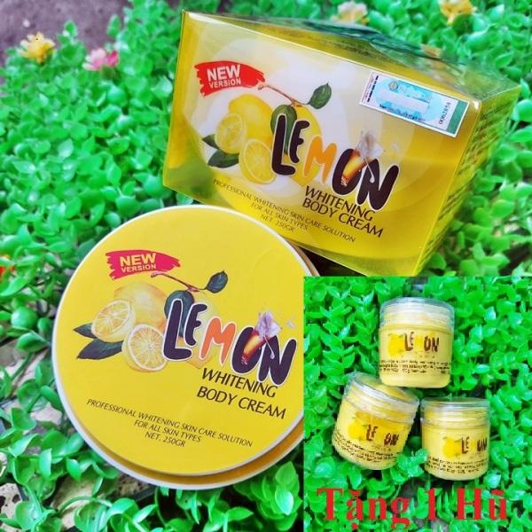 Mới Body Lemon mẫu mới siêu trắng da có hạt tặng kèm hũ lemon x6 – GV354 giá rẻ