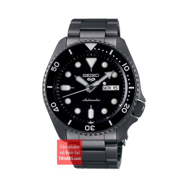 Đồng hồ nam Automatic Seiko 5 sport SRPD65K1 size 42mm dây thép vỏ thép không gỉ chống nước 100m trữ cót 40 tiếng