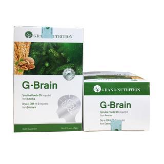 Tặng balo+khóa học Combo 5 hộp G-brain giúp trẻ tập trung, tăng cường trí não, giảm tăng động 30gói thumbnail
