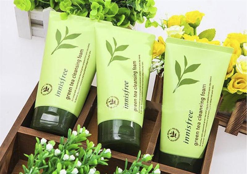 Sửa Rửa Mặt Innisfree Trà xanh nhập khẩu