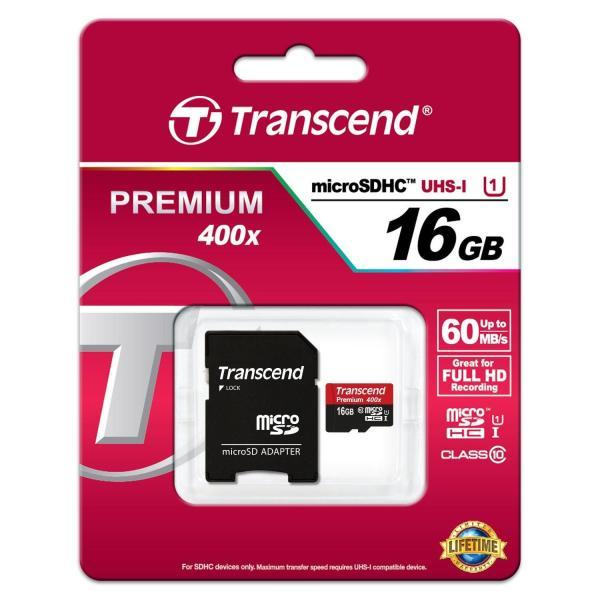 Khuyến mãiThẻ nhớ microSDHC Transcend 16GB Premium