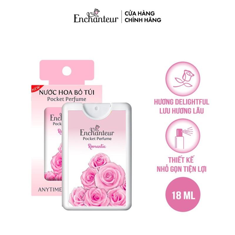 [Gift] Nước hoa bỏ túi Enchanteur Romantic 18ml/hộp.. cao cấp