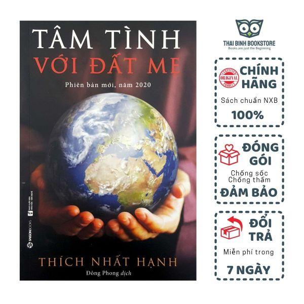 Sách - Tâm Tình Với Đất Mẹ - Phiên Bản Mới 2020 - Thiền Sư Thích Nhất Hạnh - Thái Bình Bookstore
