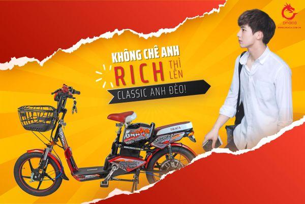 Mua Xe đạp điện Draca Classic - Nam Long Draca