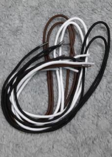 ComBo 3 Cặp Dây Giày Tây Nam Bền Đẹp Chắc TCFashion - QN07195 5