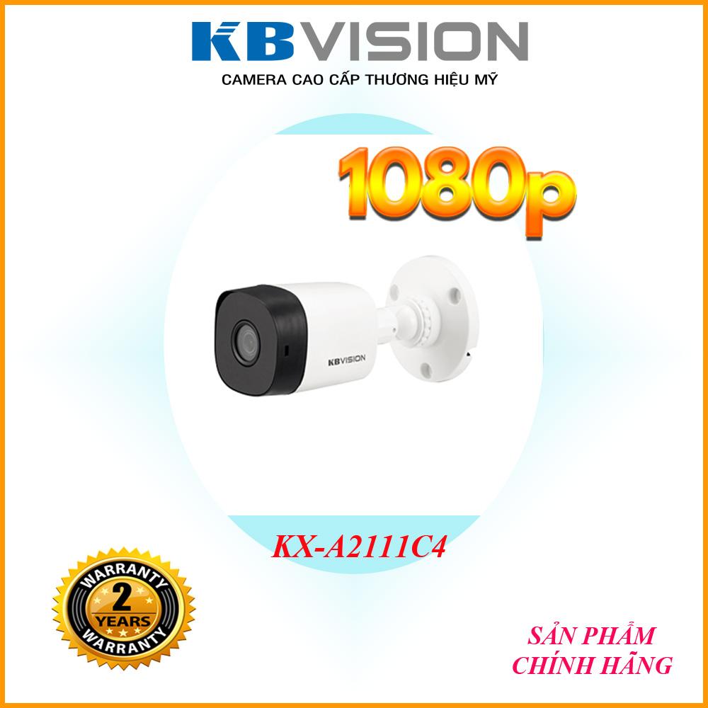 Camera HD 2MP KBVISION KX-A2111C4 - Camera công nghệ 4.0