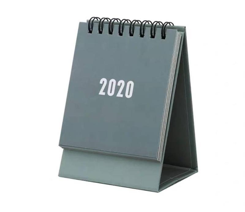 Lịch để bàn mini 2020