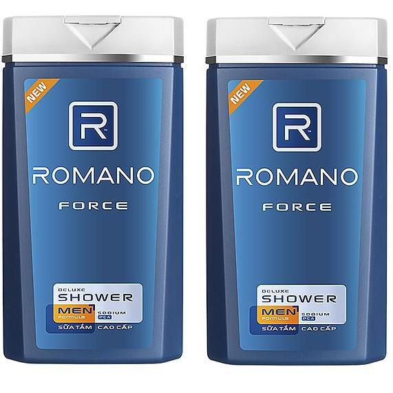 Combo 2 chai Sữa Tắm Romano Force (180g - HSD 28/09/2020) nhập khẩu