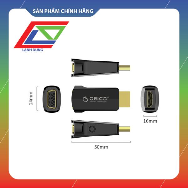 Bảng giá Chính hãng ORICO Bộ chuyển đổi HDMI sang VGA Đen XD-HLFV Phong Vũ