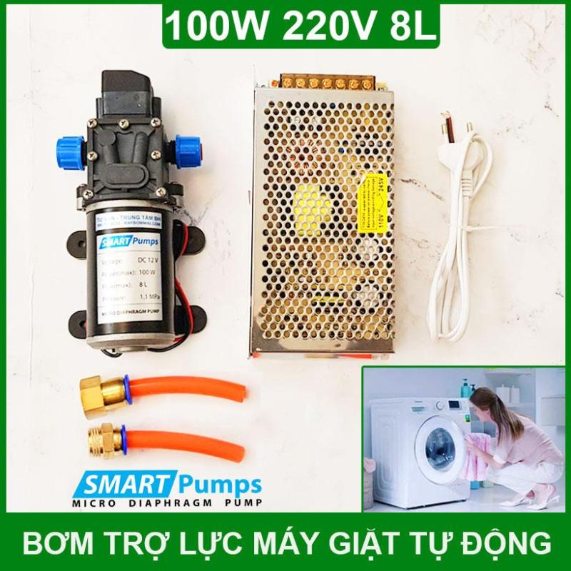 Bảng giá Máy Bơm Nước Áp Lực Trợ Lực Máy Giặt 220V 100W 8L Tự Động Điện máy Pico